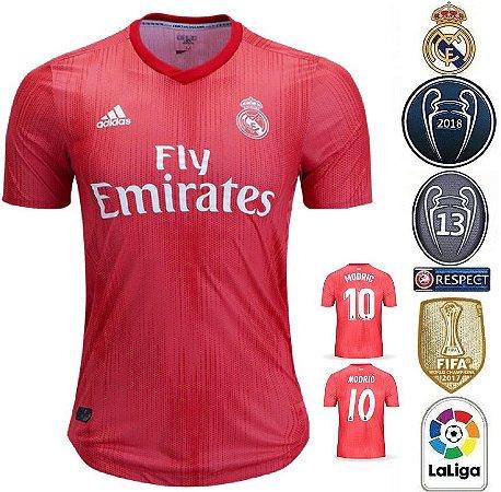 Camisa Real Madrid 2018-19 (Third-Uniforme 3) -