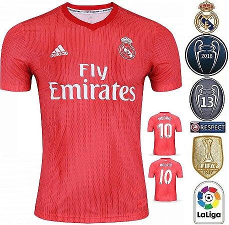 aba9ca06f Camisa Real Madrid 2018-19 (Third-Uniforme 3) -