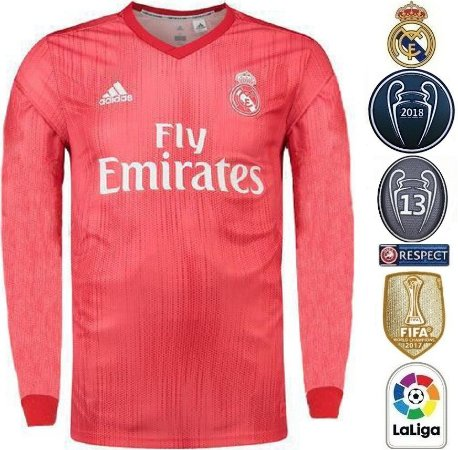 8fb01b48f Camisa Real Madrid 2018-19 (Third-Uniforme 3) -