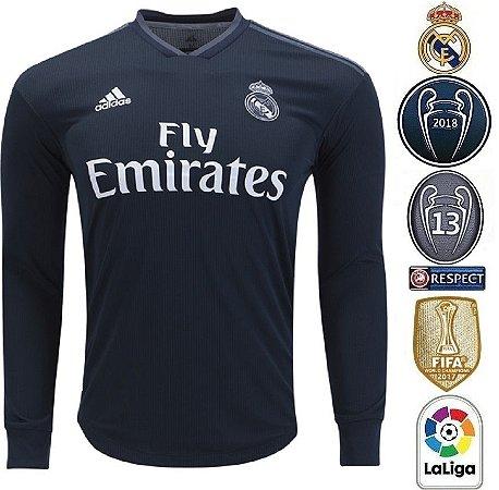 227b7b8f38ed6 Camisa Real Madrid 2018-19 (Away-Uniforme 2) -