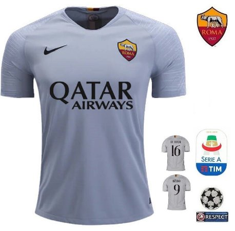 Camisa Roma 2018-19 (Away-Uniforme 2) -
