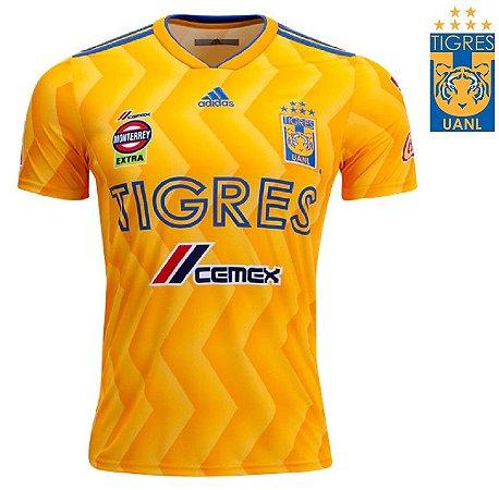 Camisa Tigres UANL 2018-19 (Home-Uniforme 1) -