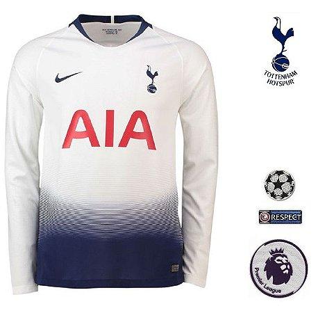 6af7305e5d Camisa Tottenham Hotspur 2018-19 (Home-Uniforme 1) -
