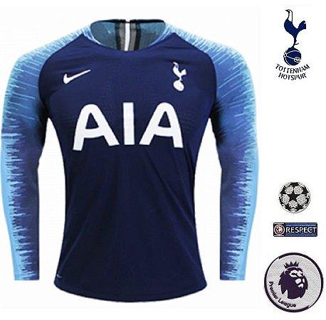 7c25723b98 Camisa Tottenham Hotspur 2018-19 (Away-Uniforme 2) -