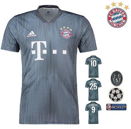 ff60af9468 Camisa Bayern Munich 2018-19 (Third-Uniforme 3) -