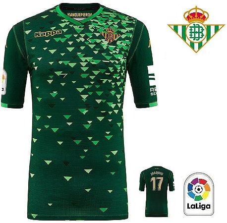 6217aeb737b54 Camisa Betis 2018-19 (Away-Uniforme 2) - ACERVO DAS CAMISAS