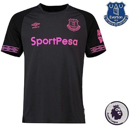 fd881b1c1 Camisa Everton 2018-19 (Away-Uniforme 2) - ACERVO DAS CAMISAS