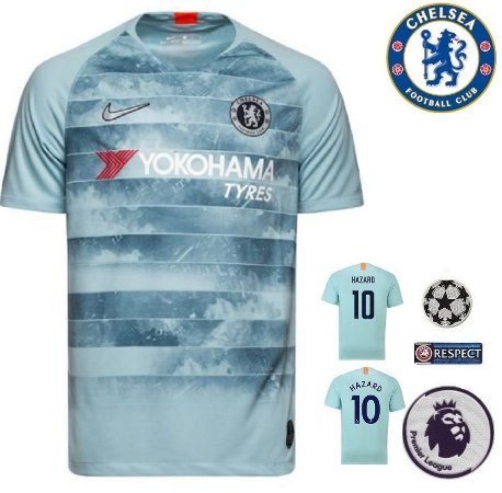 efaeb11e29 Camisa Chelsea 2018-19 (Third-Uniforme 3) -