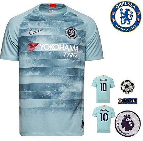 35a641578 Camisa Chelsea 2018-19 (Third-Uniforme 3) -