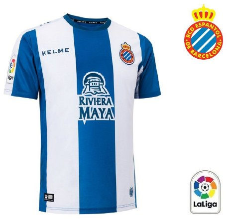 c9a32be634 Camisa Espanyol 2018-19 (Home-Uniforme 1) - ACERVO DAS CAMISAS