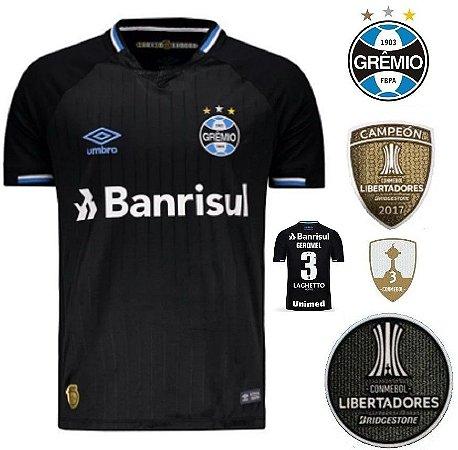 7a29a5a2b0 Camisa Grêmio 2018-19 (Third-Uniforme 3) - torcedor - ACERVO DAS CAMISAS