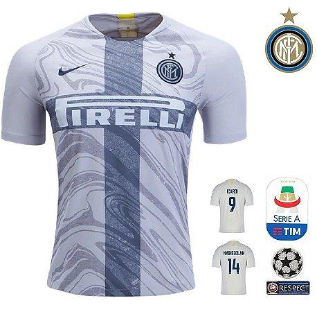Camisa Inter de Milao 2018-19 (Third-Uniforme 3) -