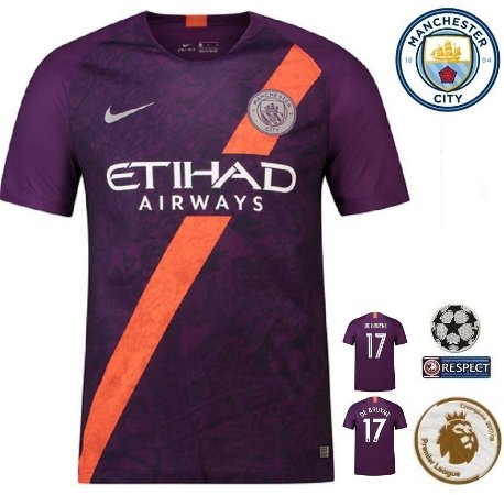 a2aa67407 Camisa Manchester City 2018-19 (Third-Uniforme 3) -