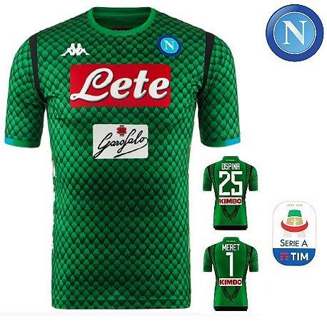 8b49e84228 Camisa Napoli 2018-19 (Goleiro) - ACERVO DAS CAMISAS