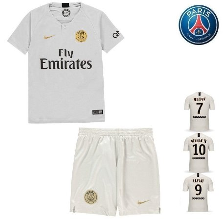 Conjunto Infantil (Camisa + Shorts) Paris Saint Germain
