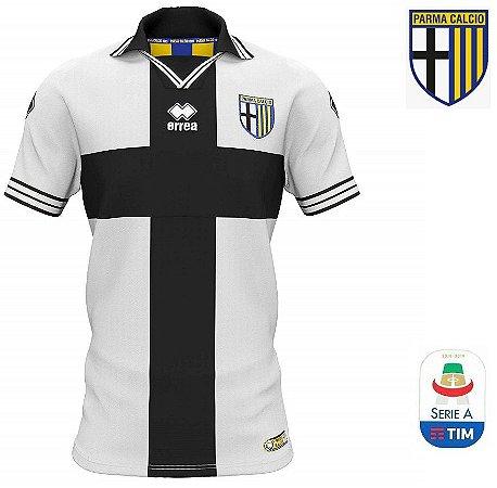 046a6fe62c44f Camisa Parma 2018-19 (Home-Uniforme 1) - ACERVO DAS CAMISAS