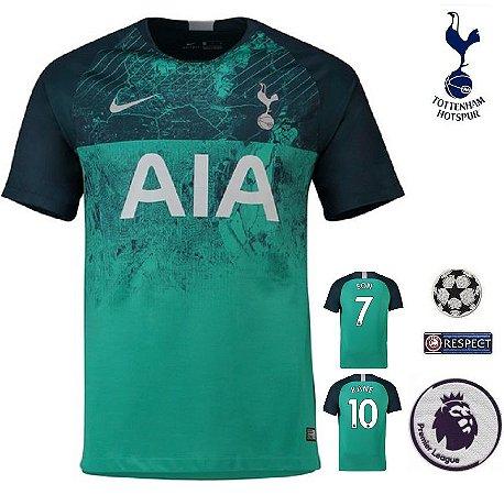 e45e2df78a351 Camisa Tottenham Hotspur 2018-19 (Third-Uniforme 3) -