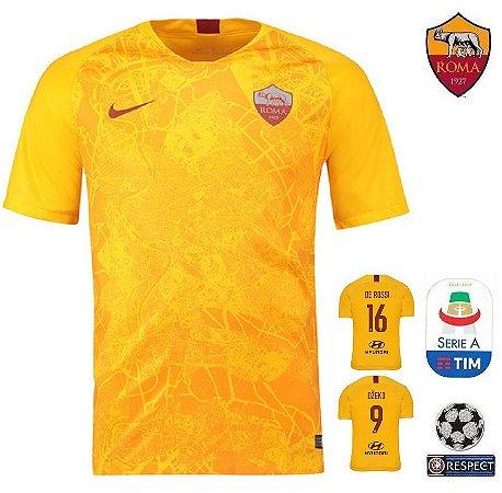 2bcdcbfa08680 Camisa Roma 2018-19 (Third-Uniforme 3) -