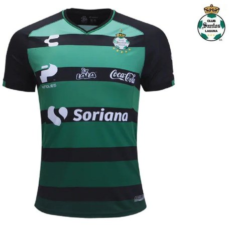Camisa Club Santos Laguna 2018-19 (Away-Uniforme 2) - ACERVO DAS CAMISAS 9f90a2004e375