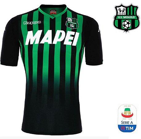 Camisa Sassuolo 2018-19 (Home-Uniforme 1) - ACERVO DAS CAMISAS b83f0c4910c8e