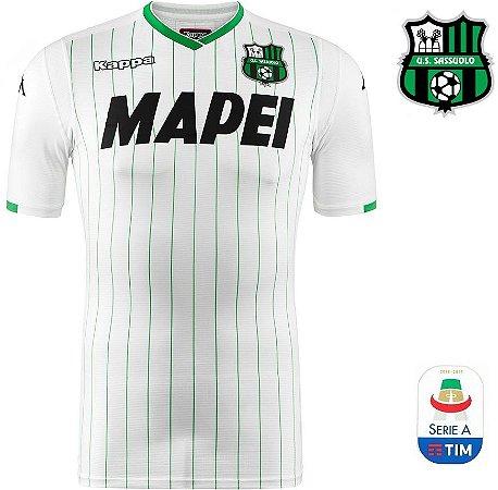 Camisa Sassuolo 2018-19 (Away-Uniforme 2) - ACERVO DAS CAMISAS ff97f96d41b5d