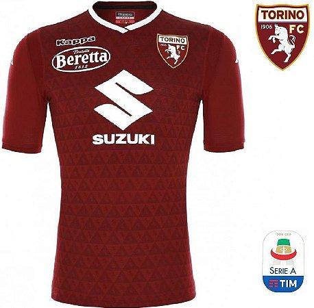 92a4455671c5f Camisa Torino 2018-19 (Home-Uniforme 1) - ACERVO DAS CAMISAS