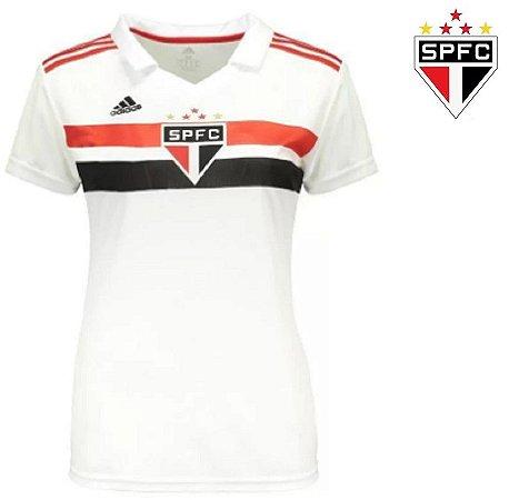 334187aac4 Camisa São Paulo 2018-19 (Home-Uniforme 1) -