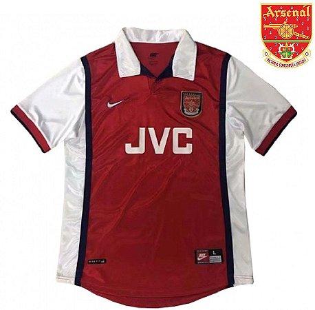 bd844124288aa Camisa Arsenal 1998-99 (Home-Uniforme 1) - ACERVO DAS CAMISAS