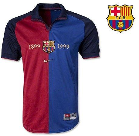 7b24b5808 Camisa Barcelona 1999-2000 (Home-Uniforme 1) - ACERVO DAS CAMISAS