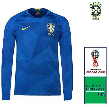 bc8f8410be Camisa Brasil 2018-19 (Away-Uniforme 2) -