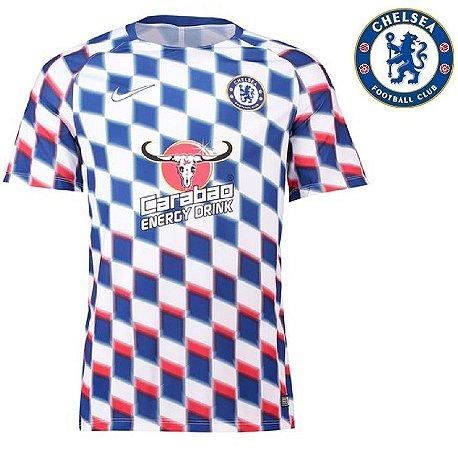 7966e38c8 Camisa Chelsea 2018-19 (Pré-Jogo) -