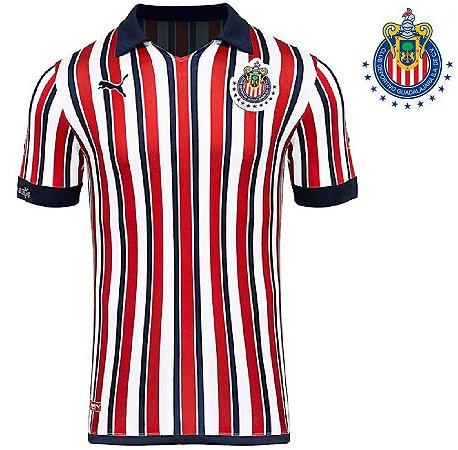Camisa Chivas Guadalajara Edição Especial Mundial De Clubes Fifa