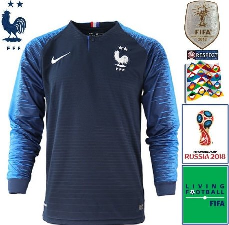 Camisa França 2018-19 (Home-Uniforme 1) -
