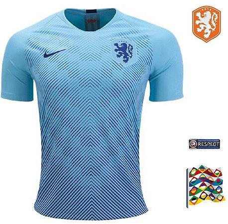 2b07de70d7d21 Camisa Holanda 2018-19 (Away-Uniforme 2) -