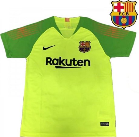 4548176771 Camisa Barcelona 2018-19 (Goleiro) - verde -