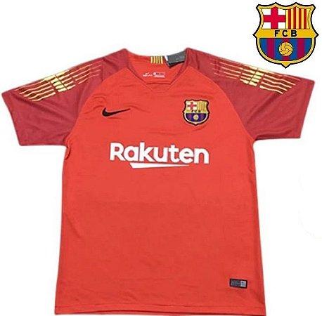 6dd88738ff85d Camisa Barcelona 2018-19 (Goleiro) -laranja-