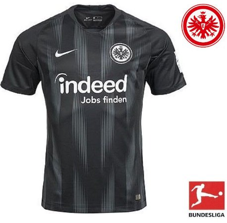 a37f9cf46 Camisa Eintracht Frankfurt 2018-19 (Home-Uniforme 1) - ACERVO DAS ...