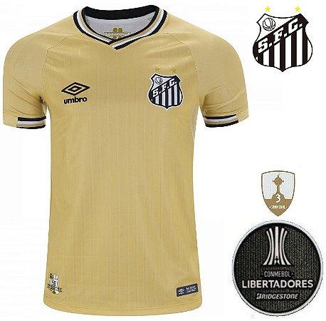 b6b45b5b01556 Camisa Santos 2018-19 (Third-Uniforme 3) - ACERVO DAS CAMISAS