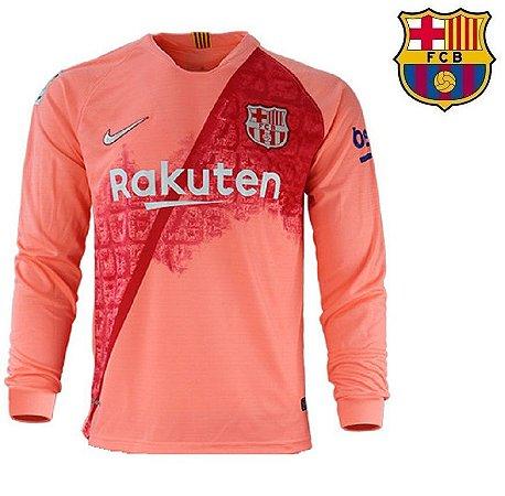 1b91cdaced4b3 Camisa Barcelona 2018-19 (Third-Uniforme 3) -