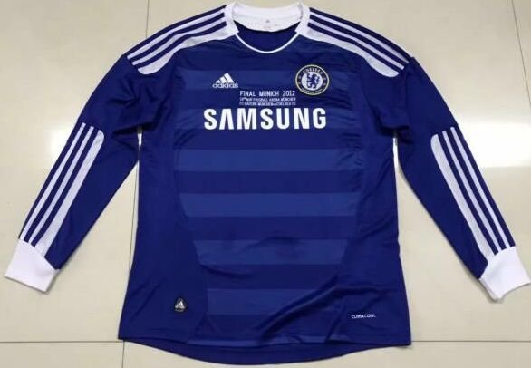 Camisa Chelsea 2011-2012 (Home-Uniforme 1) - Manga Longa