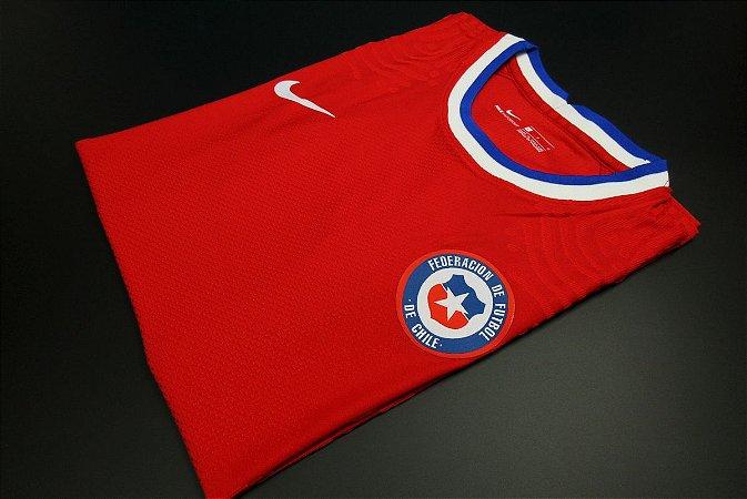 Camisa Chile 2020-21 (Home-Uniforme 1) - Modelo Jogador