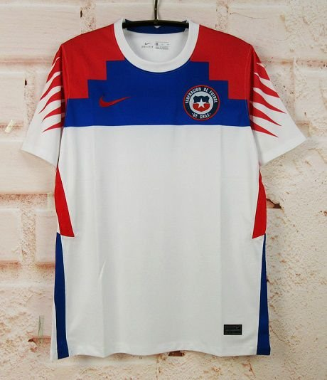 Camisa Chile 2020-21 (Away-Uniforme 2) - Modelo Torcedor