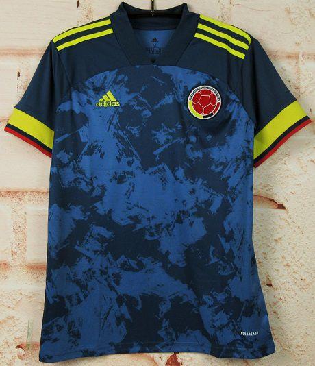 Camisa Colômbia 2020 (Away-Uniforme 2) - Modelo Torcedor