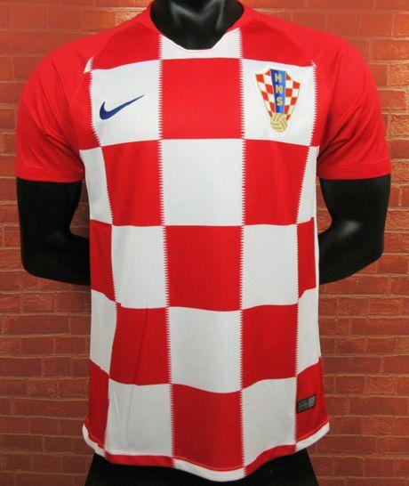 Camisa Croácia Copa do Mundo 2018 (Home-Uniforme 1) - Modelo Torcedor