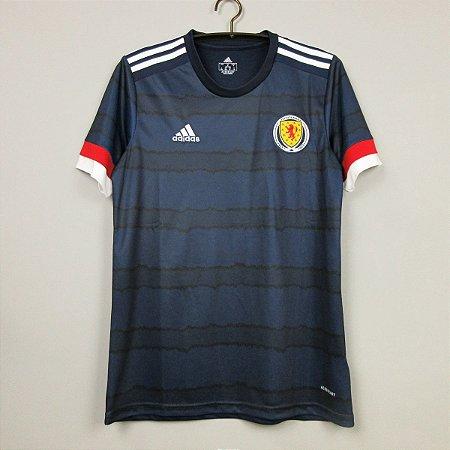 Camisa Escócia 2020-21 (Home-Uniforme 1) - Modelo Torcedor