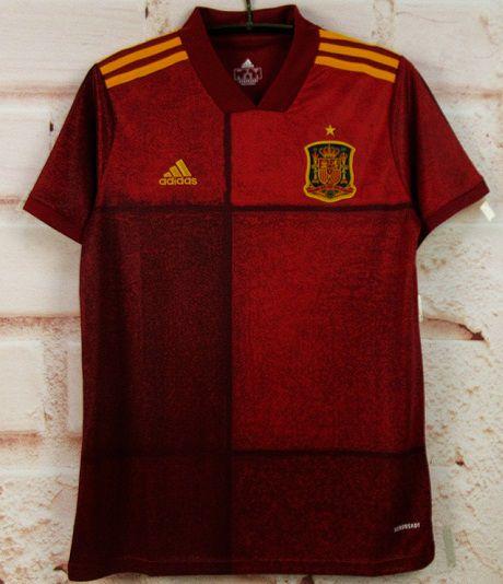 Camisa Espanha 2020-21 (Home-Uniforme 1) - Modelo Torcedor