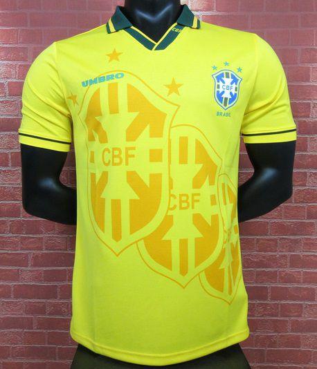 Camisa Brasil Copa do Mundo 1994  (Home-Uniforme 1)
