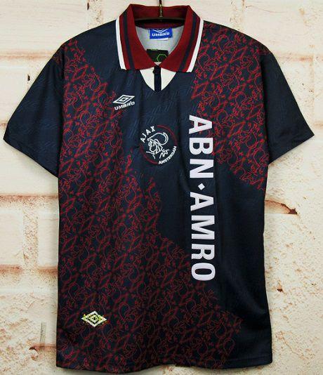 Camisa Ajax 1994-1995 (Away-Uniforme 2)