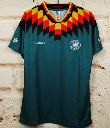 Camisa Alemanha 1994 Copa do Mundo  (Away-Uniforme 2)