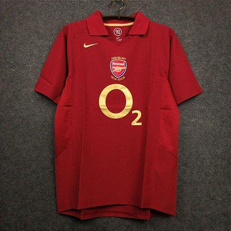 Camisa Arsenal 2005-2006 (Home-Uniforme 1)